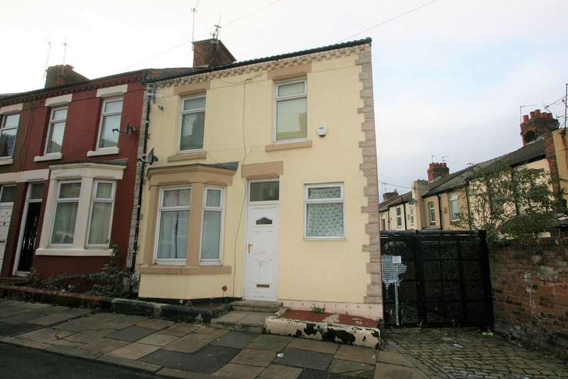 3 Bedrooms End Of Terrace House for sale in Whalley Road, Birkenhead, CH42