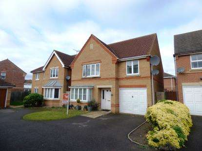 4 Bedrooms Detached House for sale in Leiston Court, Eye, Peterborough, Cambridgeshire