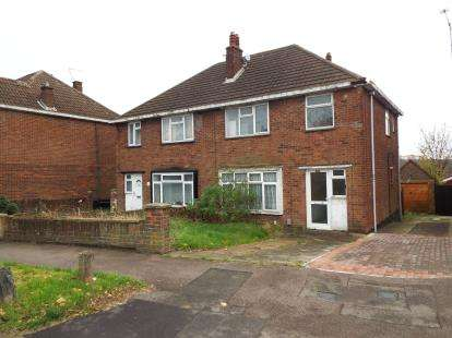 3 Bedrooms Semi Detached House for sale in Hill Rise, Sundon Park, Luton, Bedfordshire