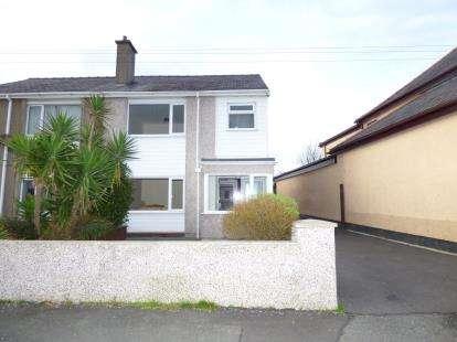 3 Bedrooms Semi Detached House for sale in Rhos Uchaf, Bangor, Gwynedd, LL57