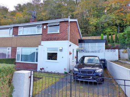 3 Bedrooms Semi Detached House for sale in Rhiw Grange, Colwyn Bay, Conwy, LL29