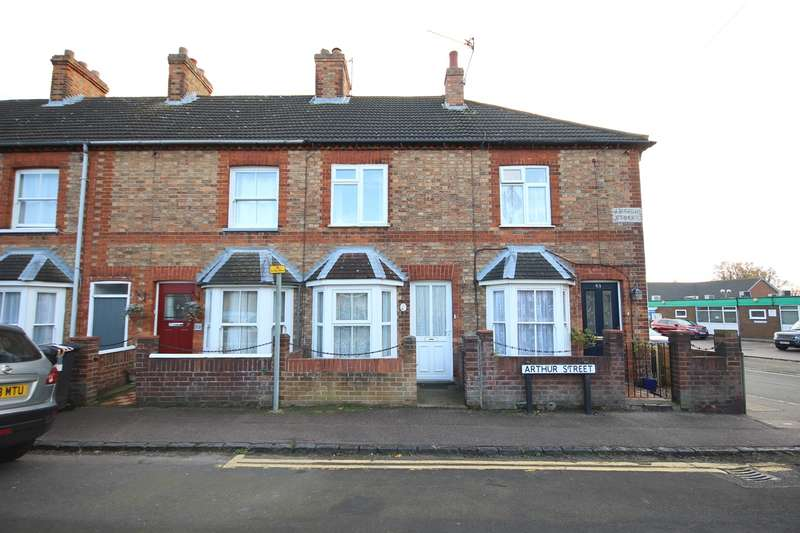 2 Bedrooms Terraced House for sale in Arthur Street, Ampthill, Bedford, MK45