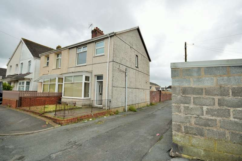 3 Bedrooms Semi Detached House for sale in School Road, Llanelli, Caerffili, SA15