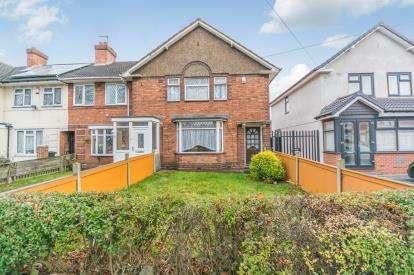 3 Bedrooms End Of Terrace House for sale in Fordrough Lane, Bordesley Green, Birmingham, West Midlands
