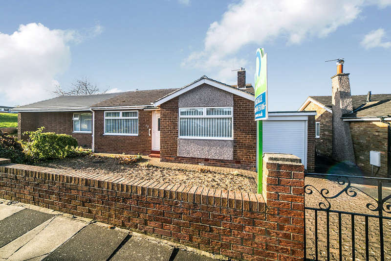 2 Bedrooms Semi Detached Bungalow for sale in Ottovale Crescent, Winlaton, Blaydon-On-Tyne, NE21