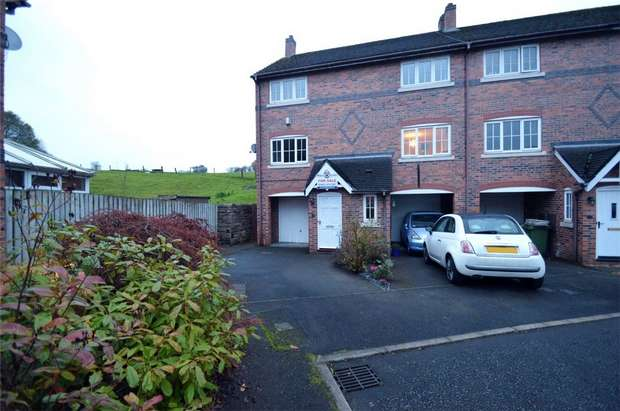 2 Bedrooms End Of Terrace House for sale in Spinners Way, Bollington, Macclesfield, Cheshire