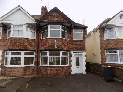 3 Bedrooms Semi Detached House for sale in St. Nicholas Road, Nuneaton, Warwickshire, .