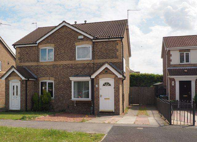 2 Bedrooms Semi Detached House for rent in Camilla Close, Victoria Dock, Hull, HU9 1UE