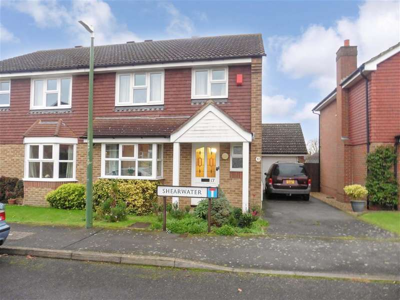3 Bedrooms Semi Detached House for sale in Shearwater, Maidstone, Kent