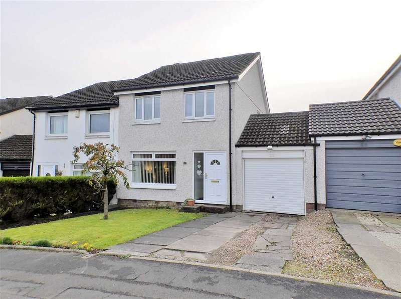 3 Bedrooms Semi Detached House for sale in Invergarry Drive, GLASGOW