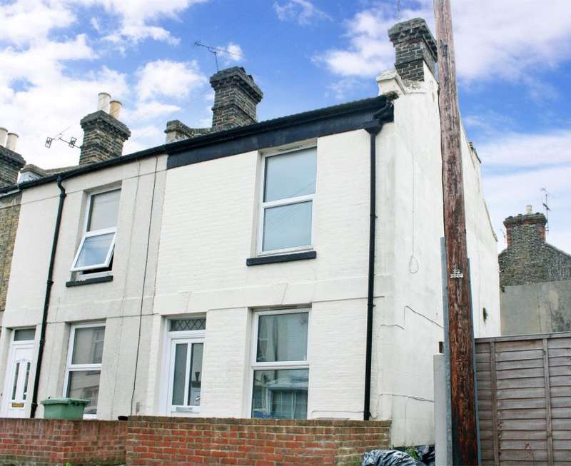 2 Bedrooms End Of Terrace House for sale in Claremont Gardens, Ramsgate, Kent, CT11 0BP