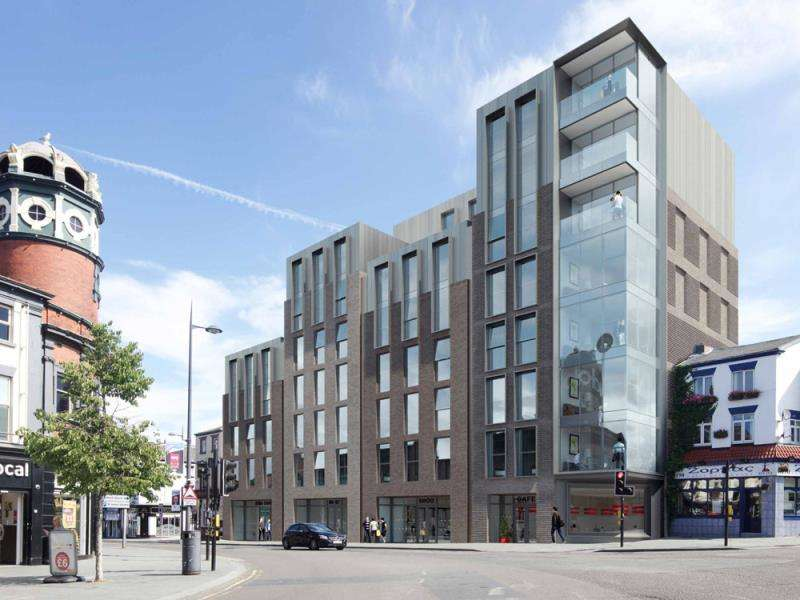 2 Bedrooms Apartment Flat for sale in Unit 2.06 Ropemaker Place, Renshaw Street, L1
