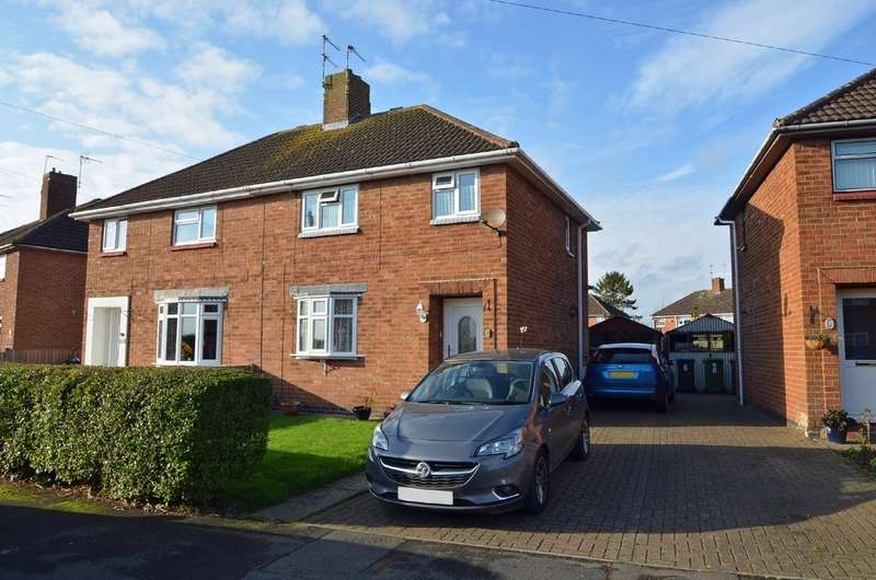 3 Bedrooms Semi Detached House for sale in Bucknill Crescent, Hillmorton , Rugby