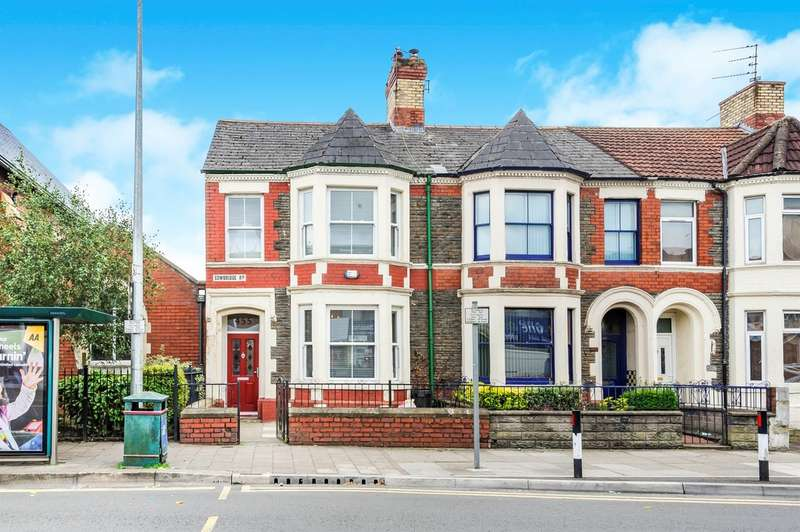 3 Bedrooms End Of Terrace House for sale in Cowbridge Road East, Cardiff