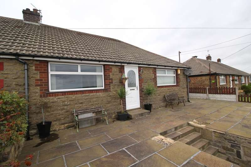 2 Bedrooms Semi Detached Bungalow for sale in Gibb Lane, Mount Tabor, Halifax, HX2