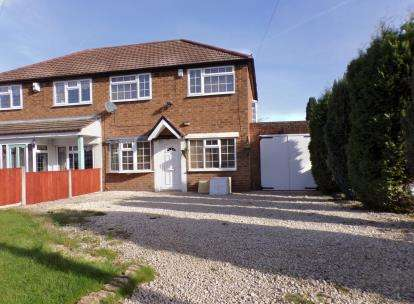 3 Bedrooms Semi Detached House for sale in Maxholm Road, Sutton Coldfield, West Midlands