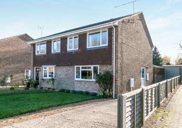 3 Bedrooms Semi Detached House for sale in Oakley, Basingstoke, Hampshire
