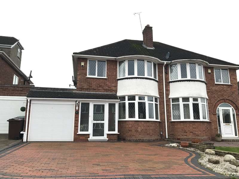 3 Bedrooms Semi Detached House for sale in Barnmoor Rise, Solihull