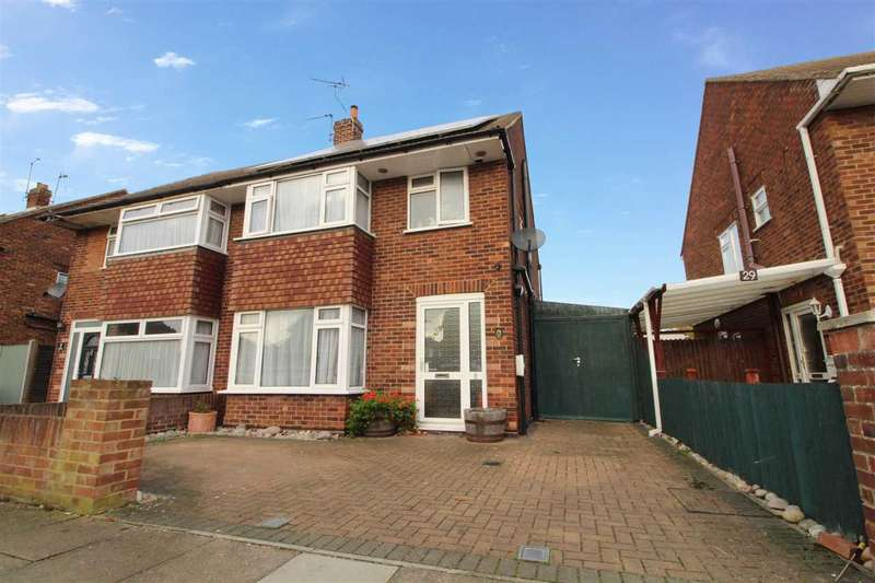 3 Bedrooms Semi Detached House for sale in Roxburgh Road, Ipswich