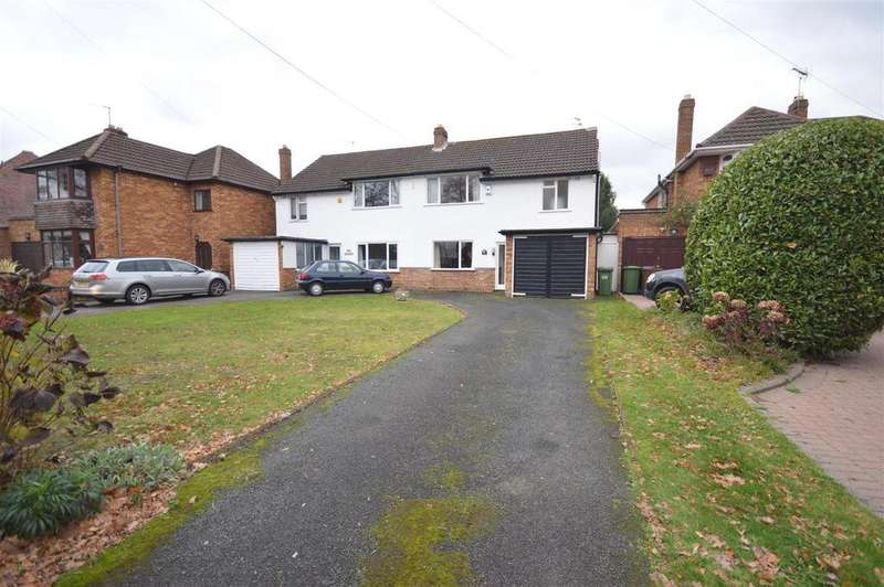 3 Bedrooms Semi Detached House for sale in Coleshill Heath Road, Marston Green