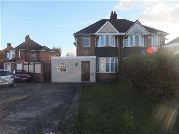 3 Bedrooms Semi Detached House for rent in Wellsford Avenue, Solihull, Solihull
