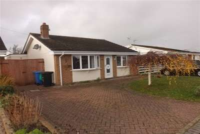 2 Bedrooms Detached Bungalow for rent in Laurel Court, Rhyl