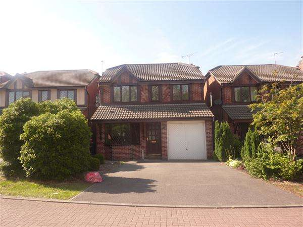 4 Bedrooms Detached House for rent in Rowe Leyes Furlong, Leicester