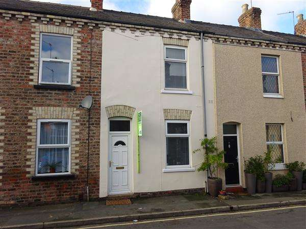 2 Bedrooms Terraced House for sale in Lansdowne Terrace, York