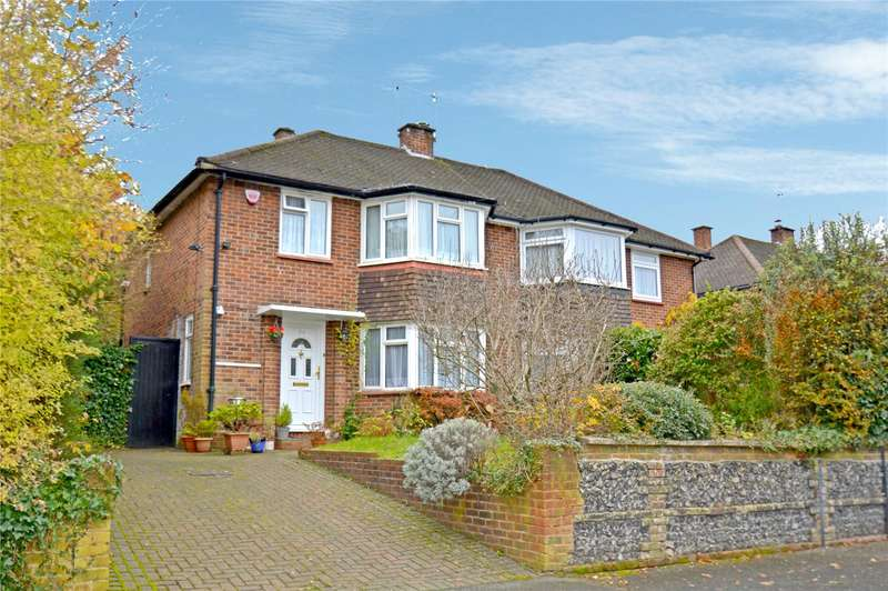 3 Bedrooms Semi Detached House for sale in Dale Road, Purley, Surrey