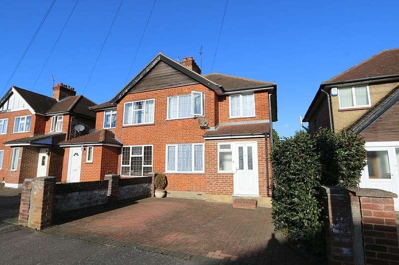 3 Bedrooms Semi Detached House for sale in Harvey Road, Uxbridge, London, UB10 0HS