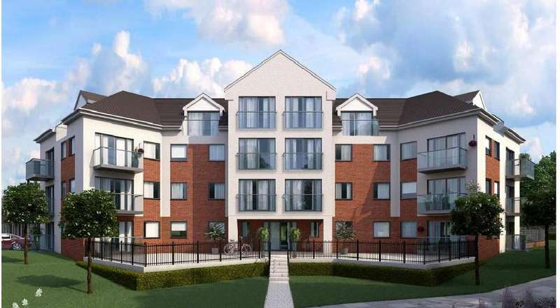 3 Bedrooms Apartment Flat for sale in Flat 16 Block G Britannia Gate, Kempston Road, Bedford, MK42