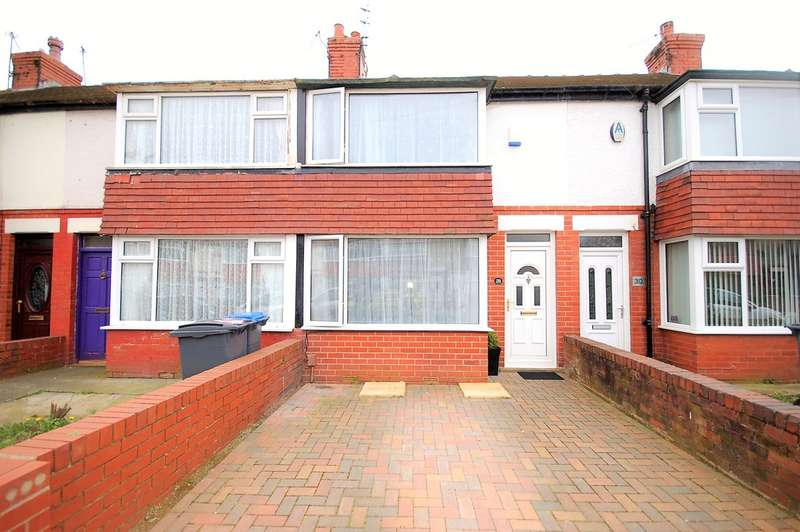 2 Bedrooms Terraced House for sale in Willowbank Avenue, Blackpool