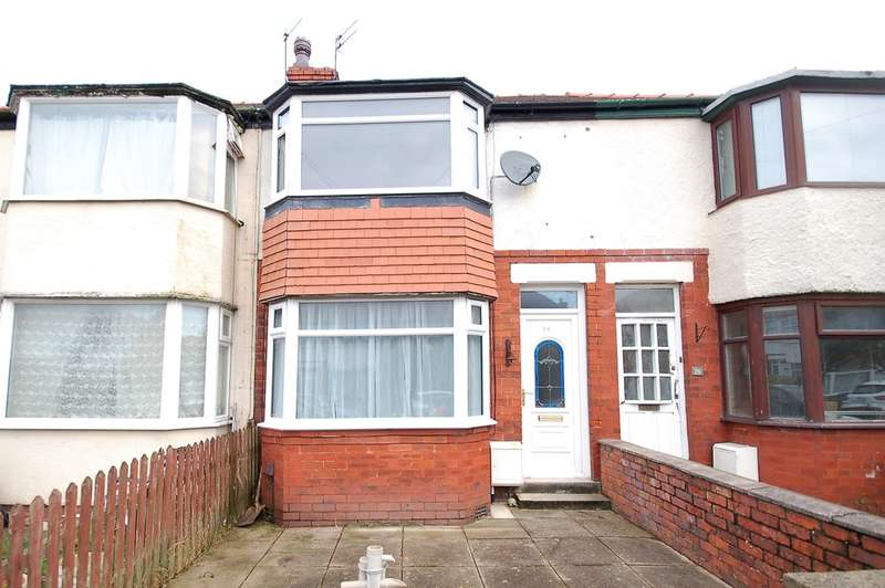 2 Bedrooms Terraced House for sale in Collyhurst Avenue, Blackpool