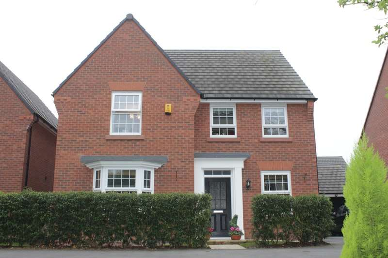 4 Bedrooms Detached House for sale in Waterlily Grove, Nantwich, Cheshire, CW5
