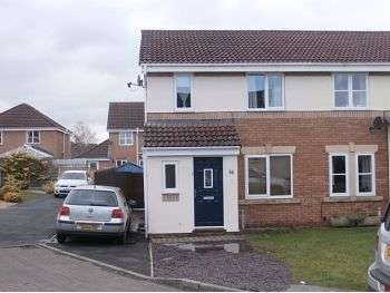 3 Bedrooms Semi Detached House for rent in Moorside Drive, Carlisle, CA1 3TF
