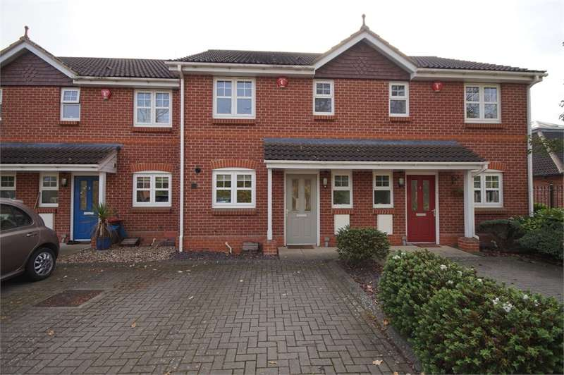 3 Bedrooms Terraced House for sale in Mitford Court, Mitford Close, Three Mile Cross, READING, Berkshire