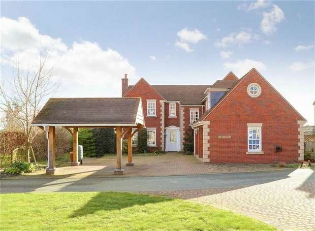 4 Bedrooms Detached House for sale in Orchard Park, Maesbrook, Oswestry, Shropshire