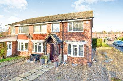 4 Bedrooms Semi Detached House for sale in Richmond Way, Newport Pagnell, Milton Keynes, Bucks