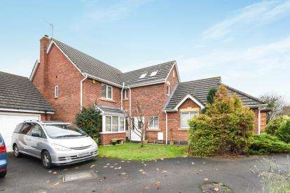 4 Bedrooms Detached House for sale in Burma Close, Evesham, Worcestershire