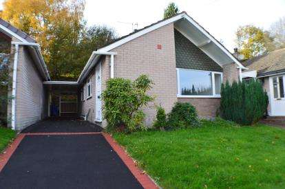 2 Bedrooms Bungalow for sale in Heather Close, Brereton, Rugeley, Staffordshire