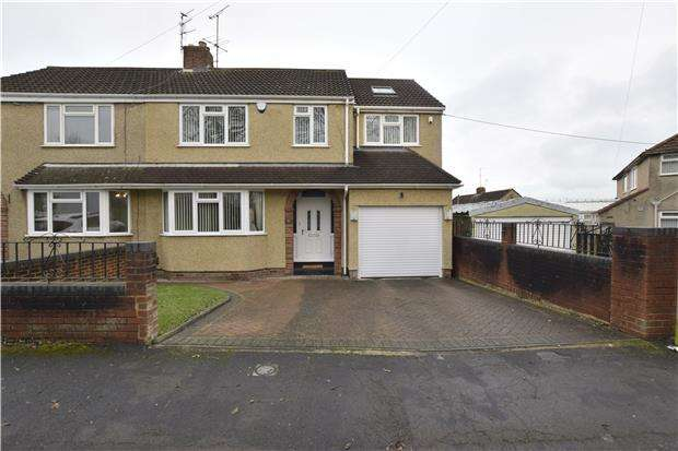 4 Bedrooms Semi Detached House for sale in Woodstock Road, Kingswood, BS15 9UE