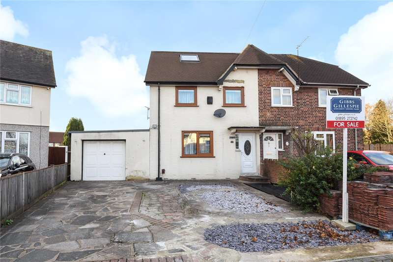 3 Bedrooms Semi Detached House for sale in Collingwood Road, Hillingdon, Middlesex, UB8