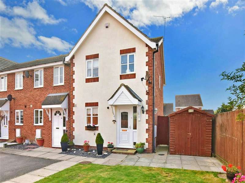3 Bedrooms End Of Terrace House for sale in Oyster Close, , Herne Bay, Kent
