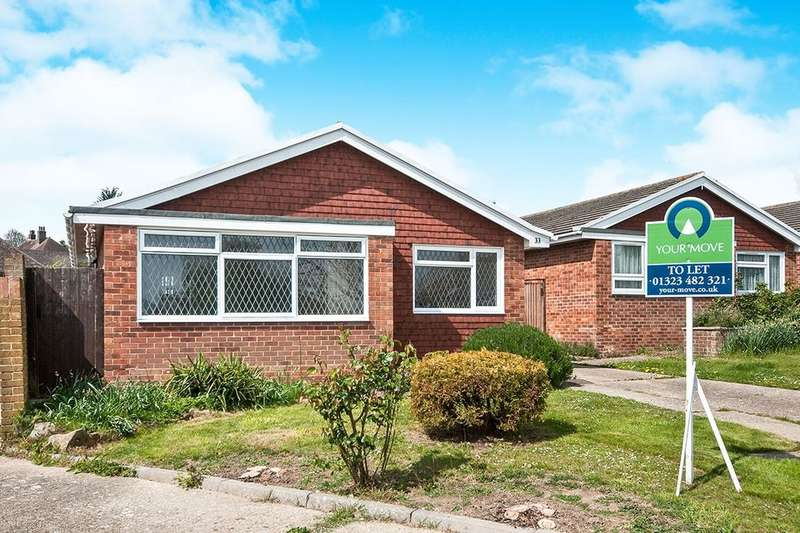 3 Bedrooms Detached Bungalow for rent in Pinewood Close, Eastbourne, BN22