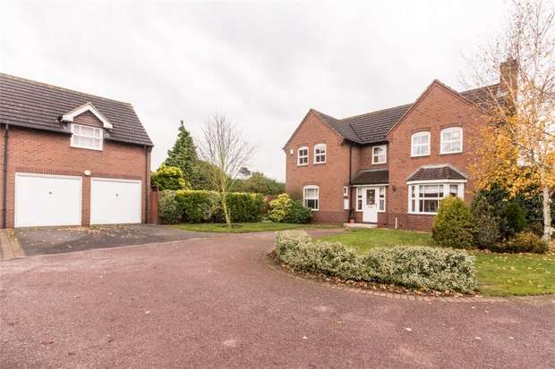 4 Bedrooms Detached House for sale in Deans Slade Drive, Lichfield, Staffordshire