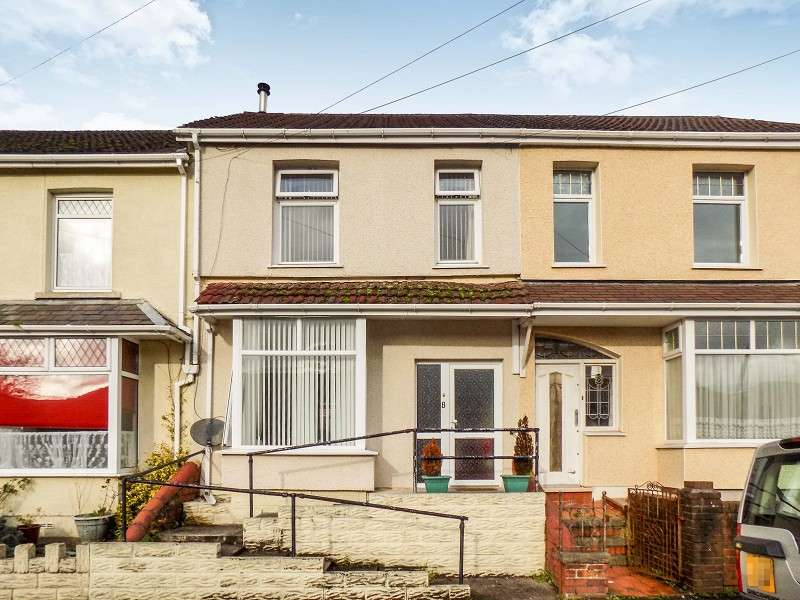 3 Bedrooms Terraced House for sale in Edwards Terrace, Abergarwed, Neath, Neath Port Talbot. SA11