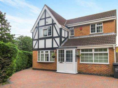 4 Bedrooms Detached House for sale in Mallard Drive, Syston, Leicestershire
