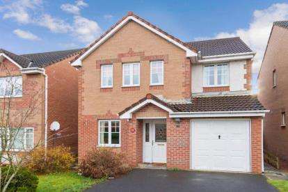 4 Bedrooms Detached House for sale in Roslin Place, Chapelhall, Airdrie, North Lanarkshire