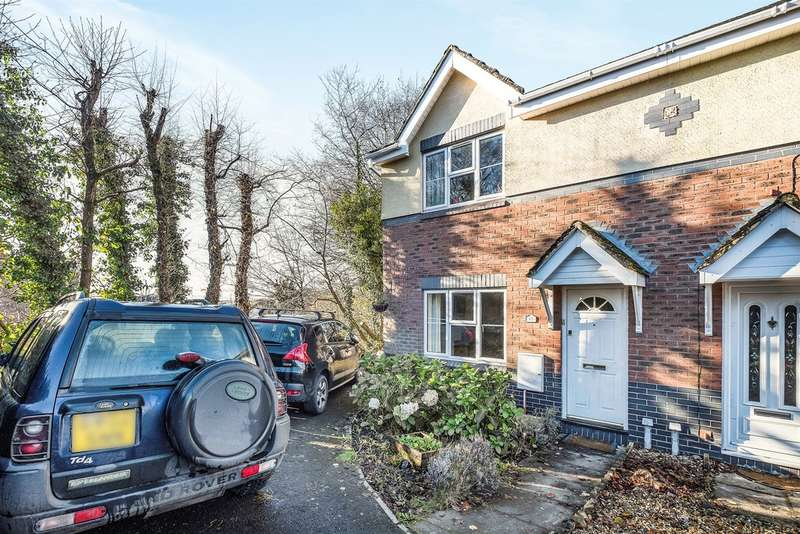 3 Bedrooms Semi Detached House for sale in Fernlea Park, Bryncoch, Neath