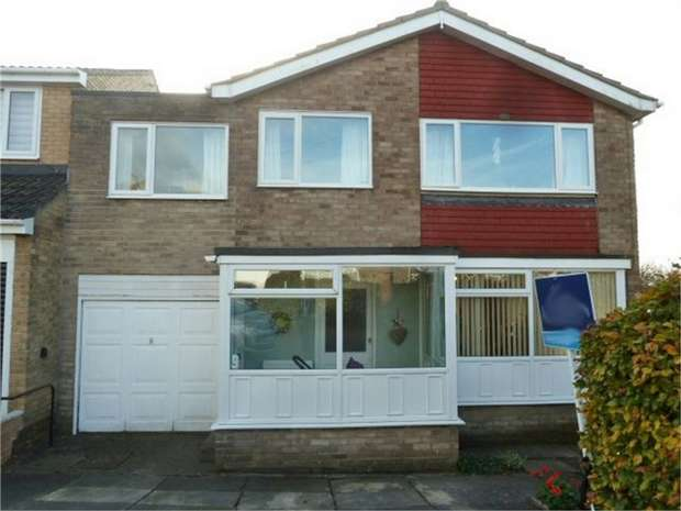 4 Bedrooms Link Detached House for sale in Frenton Close, Newcastle upon Tyne, Tyne and Wear